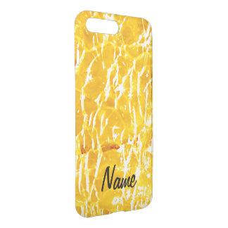 Amber Crackled Glass Design iPhone 8 Plus/7 Plus Case