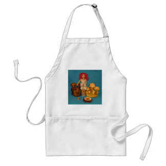 Amber Faerie Doll Adult Apron