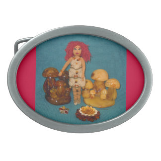 Amber Faerie Doll Belt Buckle