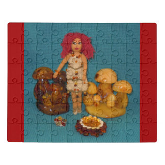 Amber Faerie Doll Jigsaw Puzzle