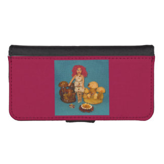 Amber Faerie Doll Phone Wallets