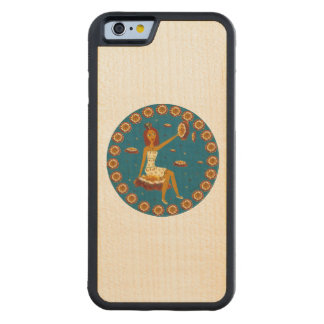 Amber Faerie Carved® Maple iPhone 6 Bumper