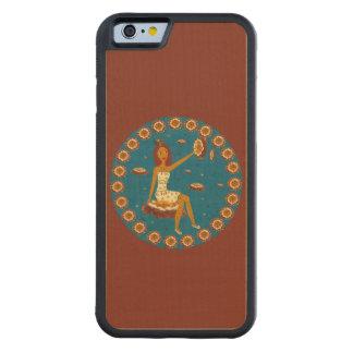 Amber Faerie Carved® Maple iPhone 6 Bumper Case
