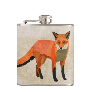 Amber Fox Flask