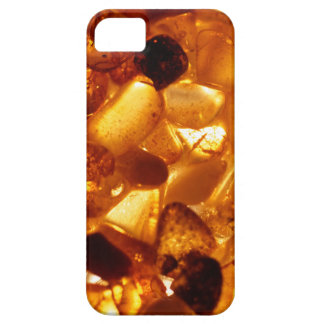 Amber grains with backlight illumination iPhone 5 case
