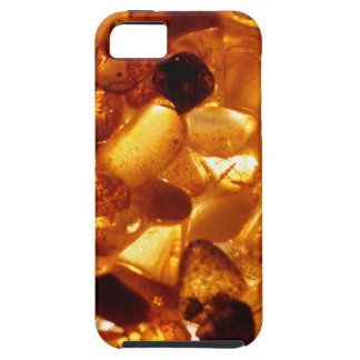 Amber grains with backlight illumination iPhone 5 cover