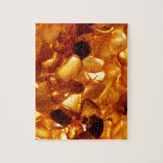 Amber grains with backlight illumination jigsaw puzzle