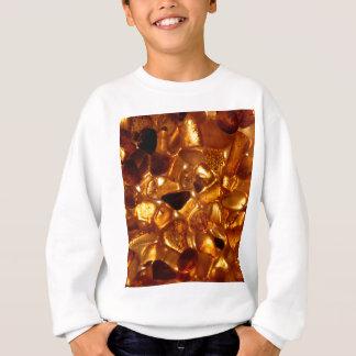 Amber grains with backlight illumination sweatshirt