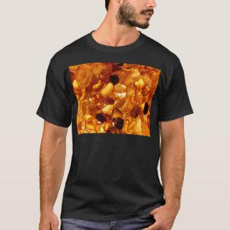 Amber grains with backlight illumination T-Shirt