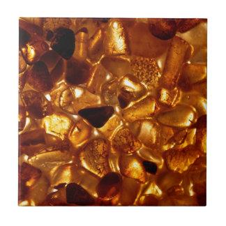 Amber grains with backlight illumination tile