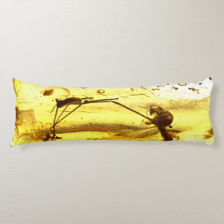 Amber inclusion body pillow