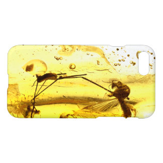 Amber inclusion iPhone 7 case