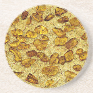 Amber inclusions | coaster