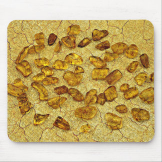 Amber inclusions | mouse pad
