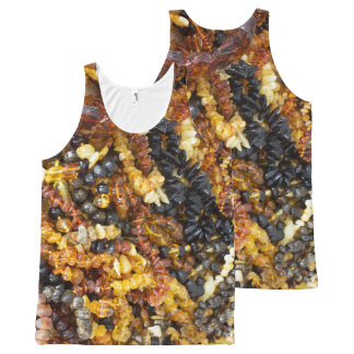 Amber jewelry All-Over-Print tank top