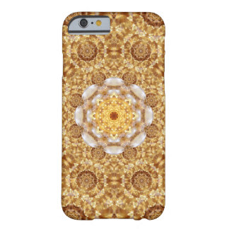 Amber Mandala Barely There iPhone 6 Case