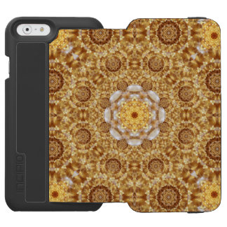 Amber Mandala Incipio Watson™ iPhone 6 Wallet Case