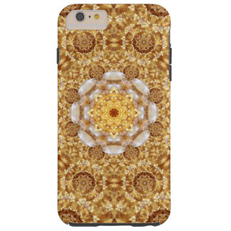 Amber Mandala Tough iPhone 6 Plus Case