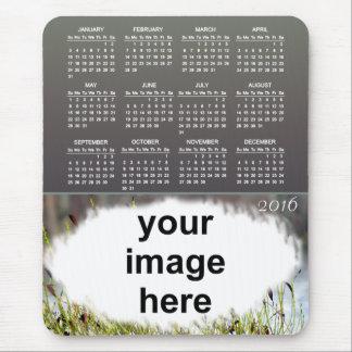Amber Photo 2016 Calendar Mouse Pad