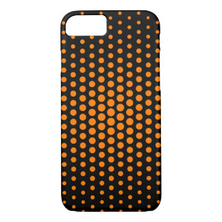 Amber (SAE-ECE) Techno Dots Modern Black iPhone 7 Case
