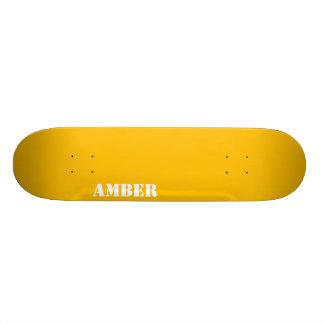Amber Skateboard