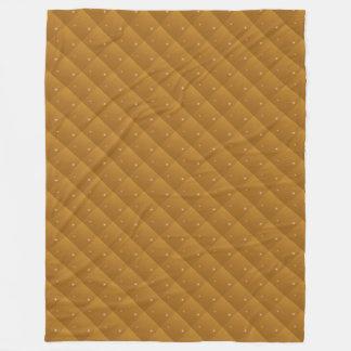Amber Sparkle Quilted Look Fleece Blanket