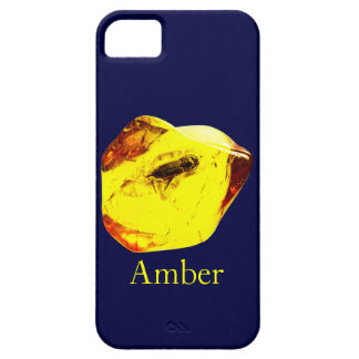Amber stone iPhone 5 case
