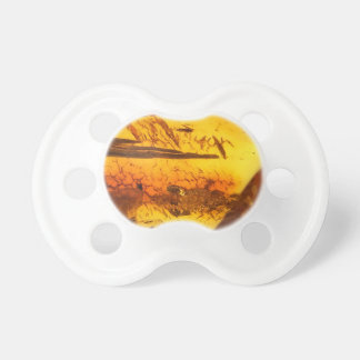 Amber stone pacifier