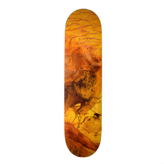 Amber stone texture background skate deck