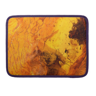 Amber stone texture background sleeve for MacBook pro