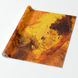 Amber stone texture background wrapping paper