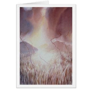 Amber Storm Field III Card
