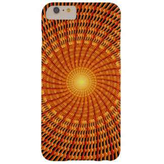 Amber Vortex Mandala Barely There iPhone 6 Plus Case