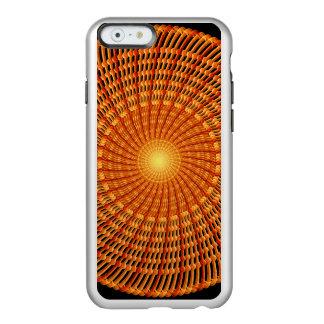 Amber Vortex Mandala Incipio Feather® Shine iPhone 6 Case