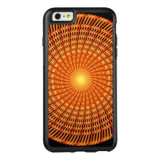 Amber Vortex Mandala OtterBox iPhone 6/6s Plus Case