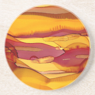 amber waves of grain coaster