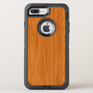 Amber Wood Grain OtterBox Defender iPhone 7 Plus Case