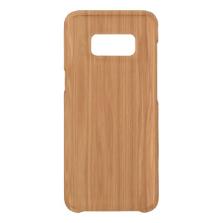 Amber Wood Grain Uncommon Samsung Galaxy S8 Case