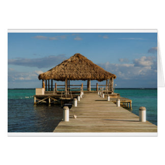 Ambergris Caye Belize Card