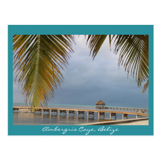 Ambergris Caye, Belize Postcard