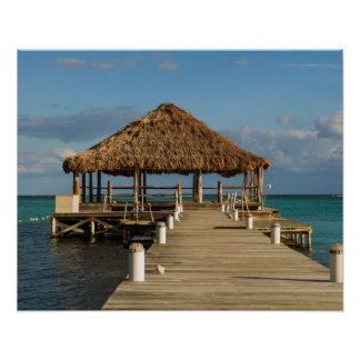 Ambergris Caye Belize Poster