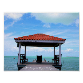 Ambergris Caye, Belize Poster