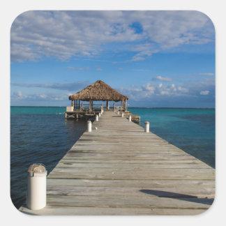 Ambergris Caye Belize Square Sticker