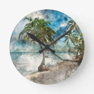 Ambergris Caye Belize Travel Destination Round Clock