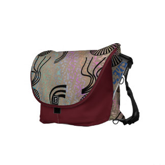 Ambers Squiggle Bag ! Courier Bag
