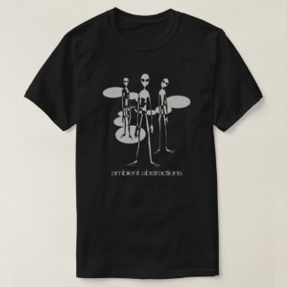 Ambient Abstractions Aliens Black Shirt