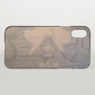 """""""Ambigram"""" Translucent iPhone X Case"""