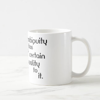 Ambiguity Coffee Mug