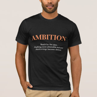 AMBITION, black T-Shirt
