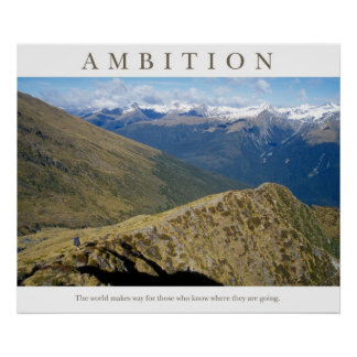 Ambition Poster